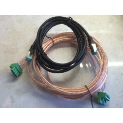 Beolab 15 to Amplifier 1 cables (2 in set)
