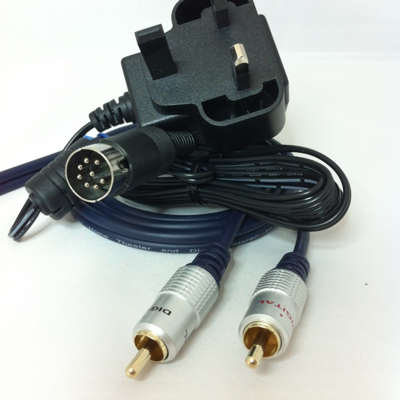 Twin RCA to Beolink Passive / MCL2P - Powered Trigger Kit