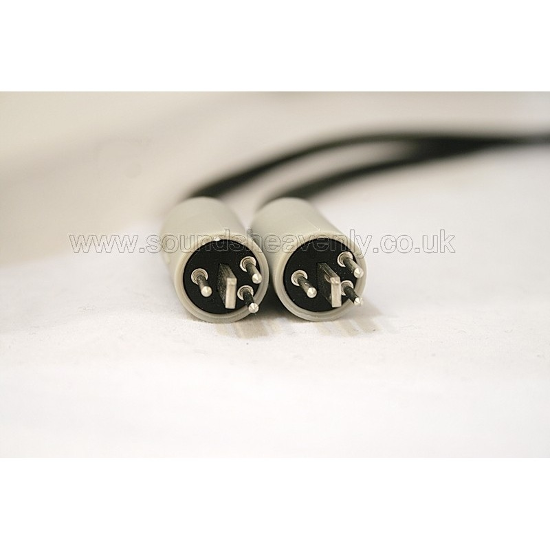 Speakerlink 4 pin DIN cables for older B&O speakers (sold as a pair)