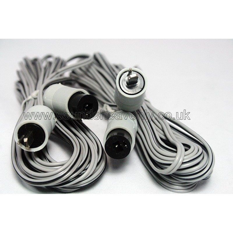 2 pin DIN Beovox speaker cables (Pair)
